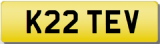 STEVE K Private CHERISHED Registration Number Plate STEVEN STEPHEN STE STEVIE S